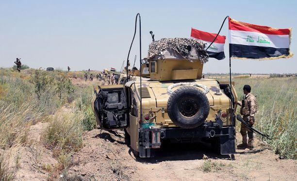 Falluja sijaitsee noin 50 kilometrin päässä Irakin pääkaupungista Bagdadista.
