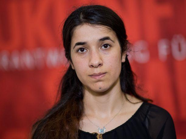 Isisin kynsistä selviytynyt ihmisoikeusaktivisti Nadia Murad sai perjantaina Nobelin rauhanpalkinnon.