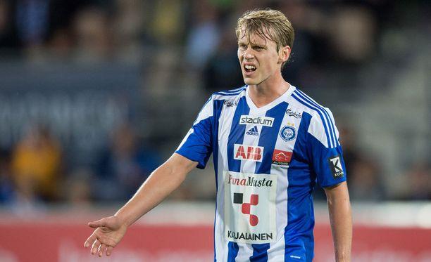 Rasmus Schüller ymmärsi HJK:n kannattajien reaktion.