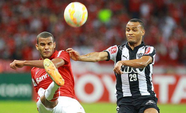 Atletico Mineiro on tällä hetkellä toisena brassiliigassa.