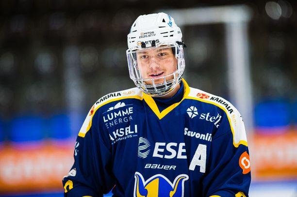 Kokkonen on Toronto Maple Leafsin kolmannen kierroksen varaus.