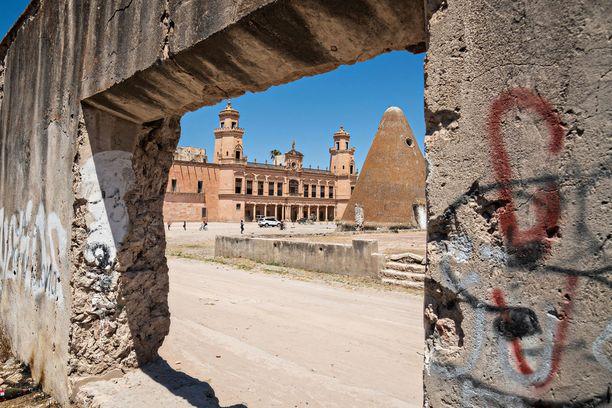 Graffitimaalarit ovat löytäneet tiensä tännekin.