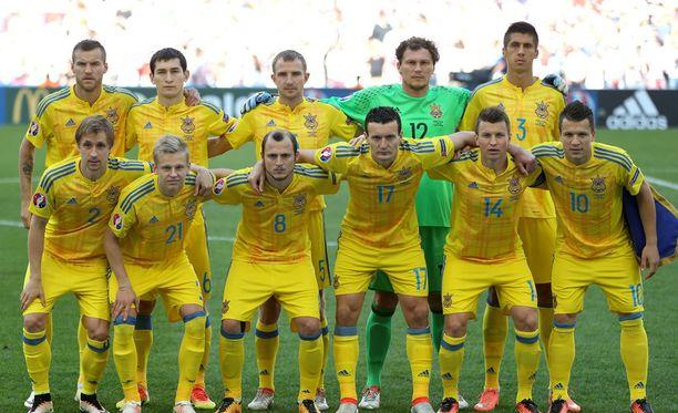 Ukrainan joukkue oli C-lohkon heittopussi.