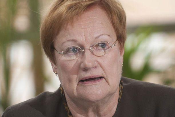Presidentti Tarja Halonen oli viimeisessä uudenvuodenpuheessaan huolissaan eriarvoisuuden kasvusta.