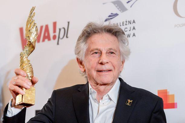 Roman Polanski on pokannut uransa aikana lukuisia elokuva-alan pystejä. Kuvassa ohjaaja Puolassa maaliskuussa 2018.