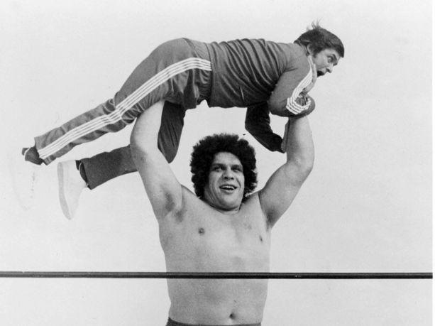 André the Giant oli huippuvuosinaan maailmankuulu supertähti.