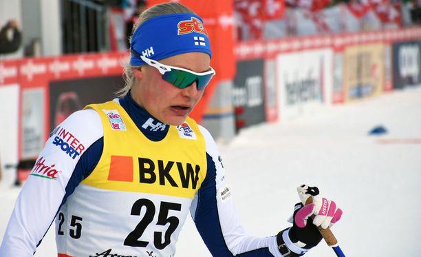 Tour de Ski ei sujunut Anne Kyllöseltä toivotulla tavalla.