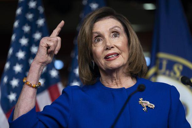 Edustajainhuoneen puheenjohtaja Nancy Pelosi on antanut virkarikostutkinnalle kasvot.