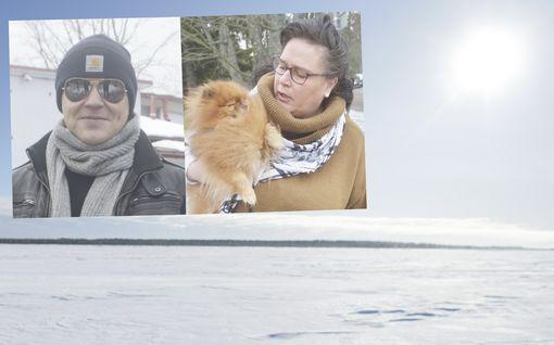 """""""Juhannuskelit!"""" Lämpöaalto iski Suomeen - raumalaiset nauttivat föhn-tuulien keskuksessa"""
