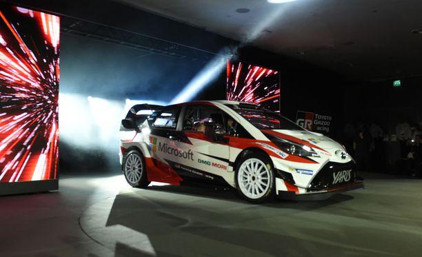 Yaris WRC on Tommi Mäkisen johtaman tiimin pitkän kehitystyön tulos.
