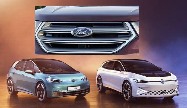 Ford alkaa valmistaa omaa sähköautoaan samalle VW ID.3:n ja ID.4:n käyttämälle perusrakenteelle.