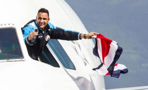 Costa Rican tähtivahti on menossa Real Madridiin.