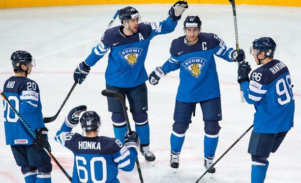 Suomi nappasi helpottavan voiton Sloveniasta.