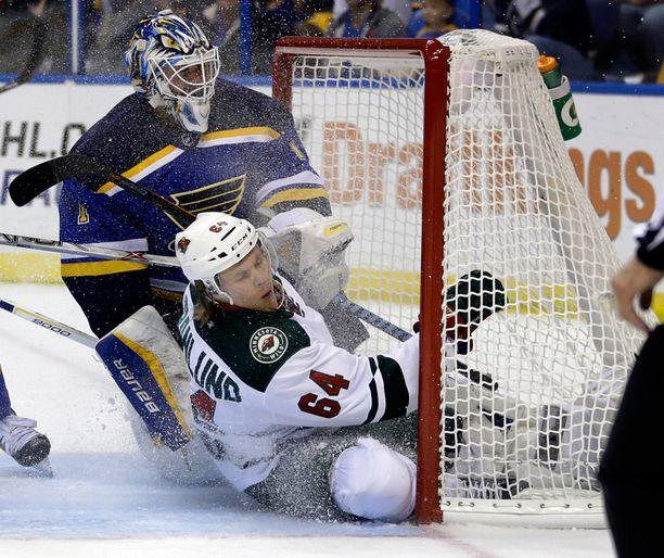 Mikael Granlundin edustama Minnesota päätti runkosarjansa vierastappioon.