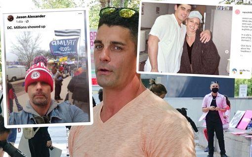 Muistatko vielä Britney Spearsin pika-avioliiton Jason Allen Alexanderin kanssa? Tältä mies näyttää nyt - tuki Trumpia Washingtonissa mellakkapäivänä
