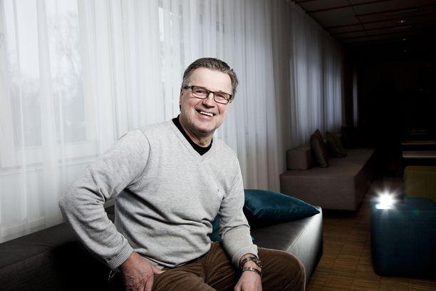 Hannu Kapanen uskoo Leijonien mitalisaumaan.