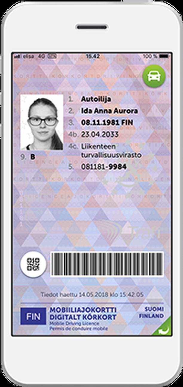 Sähköinen Ajokortti