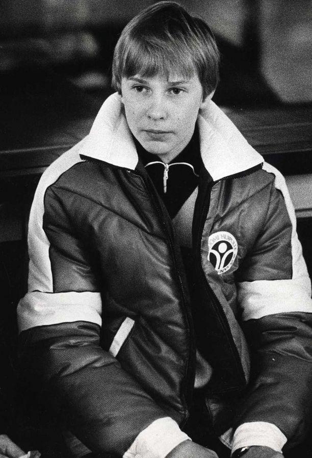 17-vuotias nuorten maailmanmestari vuonna 1981.