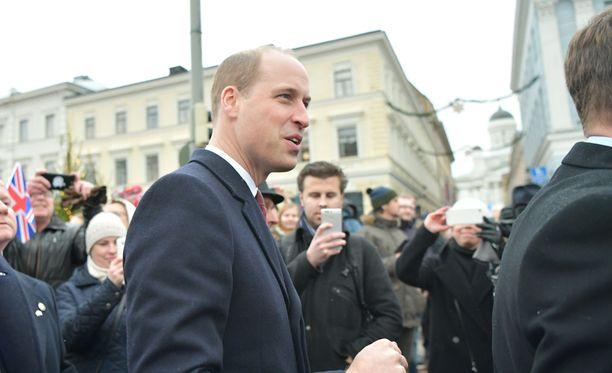 Prinssi William kehui Iltalehdelle Helsinkiä.