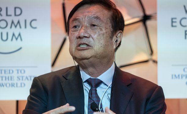 Ren Zhengfei on Huawein perustaja ja toimitusjohtaja.