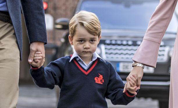 George aloitti koulunkäynnin syyskuun alussa.