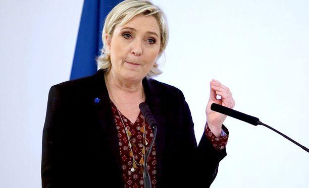 Marine Le Pen pyrkii Ranskan presidentiksi.