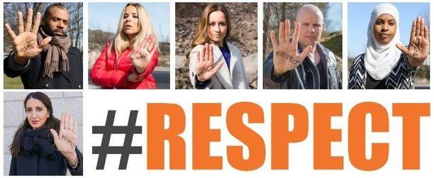 Kampanjassa on mukana useita julkisuuden henkilöitä.