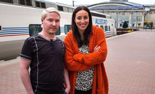 Iiro ja Anni matkustavat ensi jaksossa Venäjälle.
