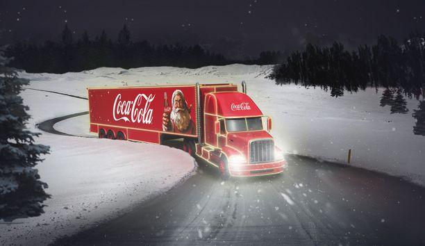 Coca-Colan joulurekka vierailee kymmenellä paikkakunnalla.
