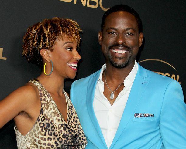 Ryan Michelle Bathe ja Sterling K. Brown Los Angelesissa elokuussa 2019.