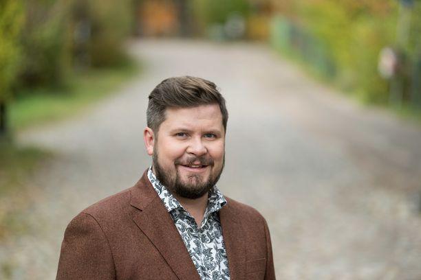Kuvassa Janne Kataja lokakuussa 2018.