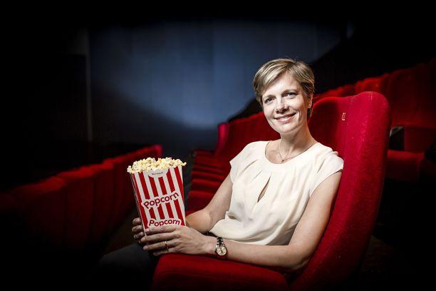 Finnkinon irtisanottu toimitusjohtaja Veronica Lindholm vuonna 2015.