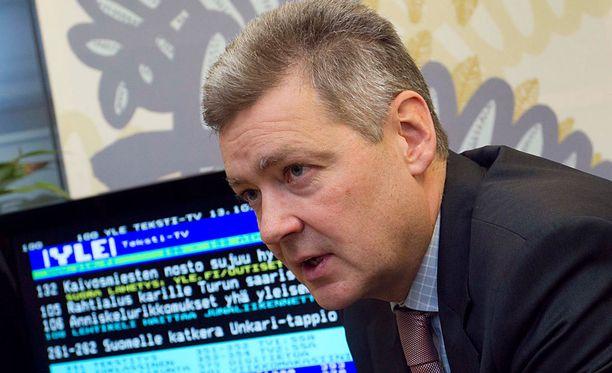 Ylen toimitusjohtaja Lauri Kivisen ansiot nousivat vuodessa noin 12 000 euroa.