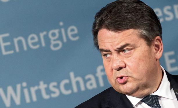 Saksan talousministeri Sigmar Gabriel on myös Saksan sosiaalidemokraattisen puolueen puheenjohtaja.