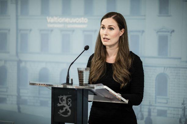 Pääministeri Sanna Marinin Koronavilkku värähti.