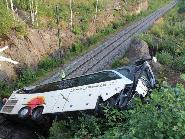 Traaginen bussiturma tapahtui Kuopiossa reilu vuosi sitten.