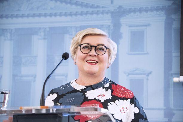 Anu Vehviläinen ei tavoittele puheenjohtajuutta.
