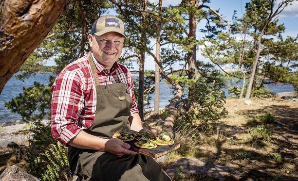 Nokan ja Hiedan keittiöpäällikkö Ari Ruoho on Suomen parhaita riistakokkeja.