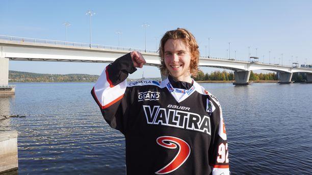 Brad Lambert on nauttinut ensimmäisistä kuukausistaan Jyväskylässä.