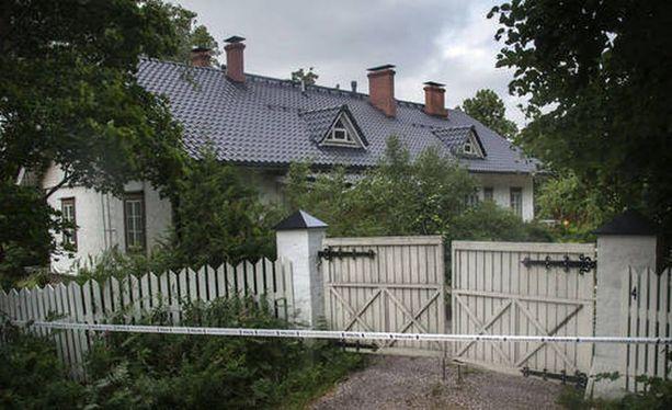 Surma tapahtui Sipoon Söderkullassa Hansaksen alueella sijaitsevassa talossa.