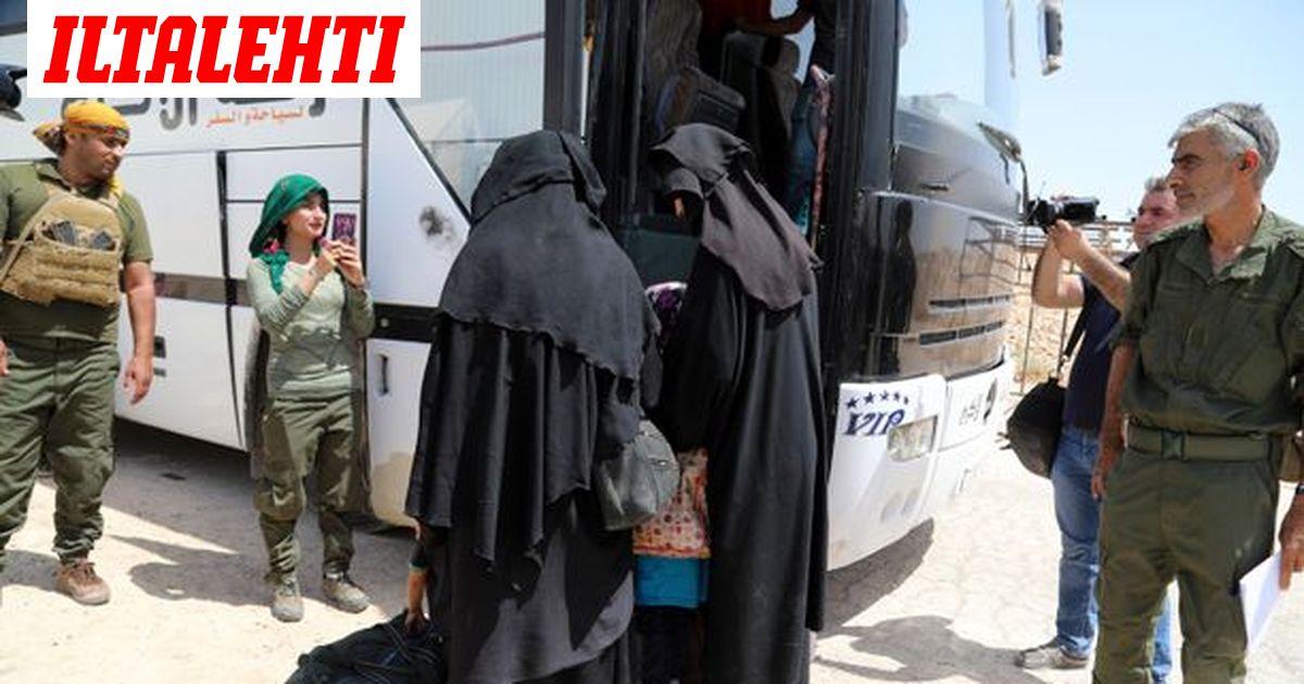 Suomeen palanneet Isis-naiset  näitä kytköksiä KRP selvittää