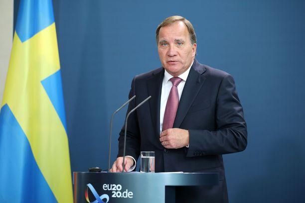 Stefan Löfvenin ehdotus ei saanut vastakaikua.