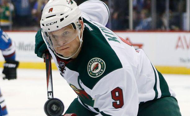 Kapteeni Mikko Koivu johdatti joukkueensa jo kymmenenteen perättäiseen vierasvoittoon.