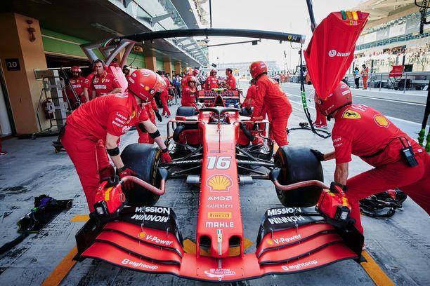 Charles Leclercin autossa oli ennen kisan alkua eri määrä polttoainetta kuin Ferrari oli FIA:lle ilmoittanut.