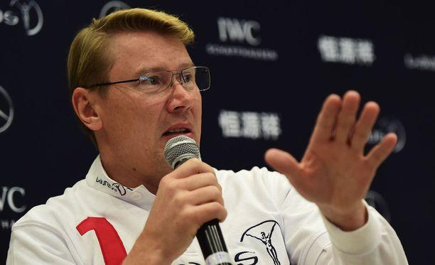 Silverstonen osakilpailu oli yksi Mika Häkkisen suosikeista.