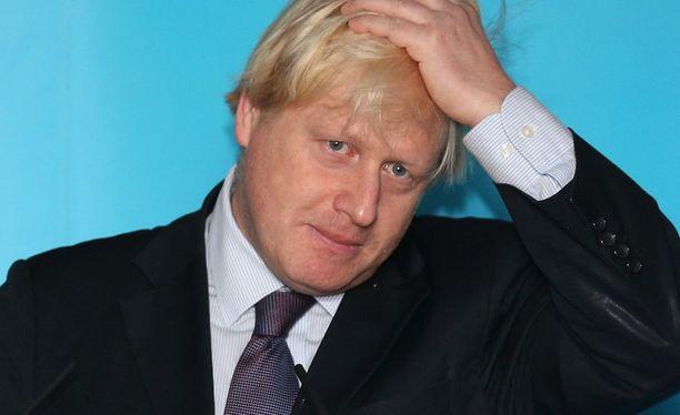 Lontoon pormestari menetti kasvonsa radiossa.