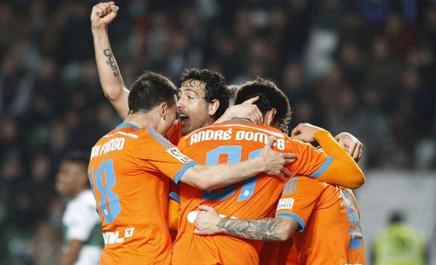 Valencia on mukana La Ligan mestaruustaistossa.