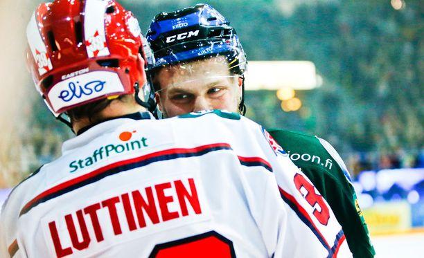 Arttu Luttinen ja Antti Tyrväinen saivat kolttosistaan lopulta samanmittaiset pelikiellot.