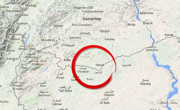 Toimittajan uskotaan kadonneen Turkin ja Syyrian välisellä raja-alueella.