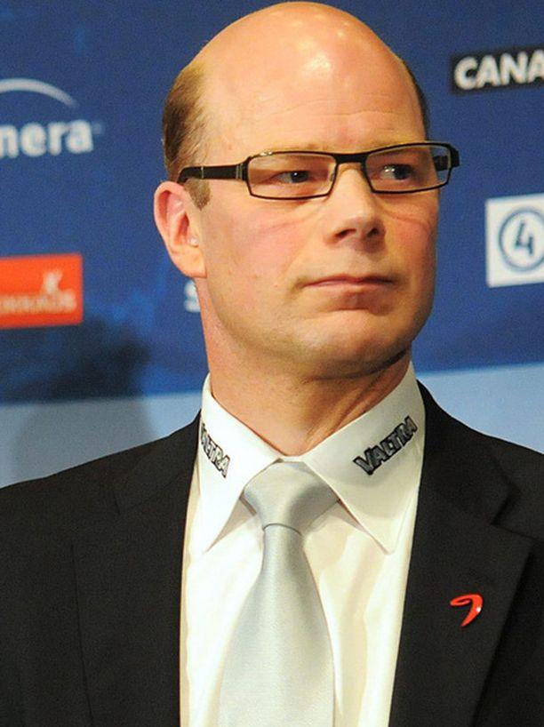 Risto Dufva jatkoi JYPin peräsimessä suoraan Matti Alatalon jälkeen.